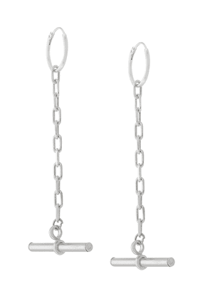 Coup De Coeur bar drop earrings - Metallic