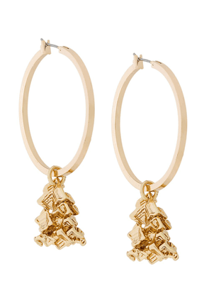 Coup De Coeur Vortex hoop earrings - Metallic