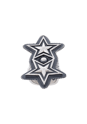 Cody Sanderson double star ring - Metallic