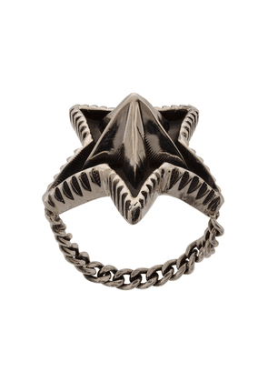 Cody Sanderson spike star ring - Metallic