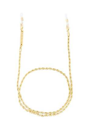 Frame Chain 18K Yellow Gold Roller rope glasses chain - Metallic