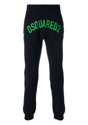 Dsquared2 logo printed joggers - Blue