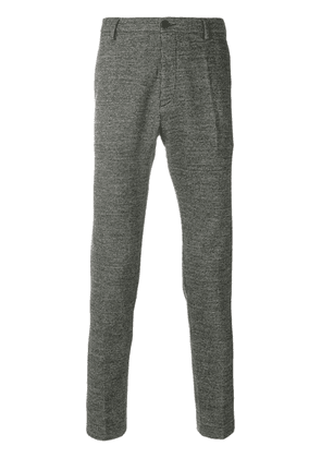 Al Duca D'Aosta 1902 fitted tailored trousers - Black