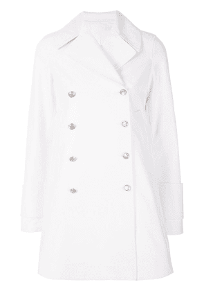 Calvin Klein 205W39nyc double breasted coat - White