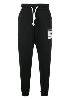 Maison Margiela Stereotype patch track pants - Black