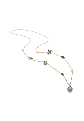 Bibi van der Velden Galaxy 18K Rose Gold And Multi-Stone Necklace