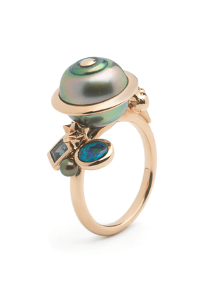 Bibi van der Velden Planet 18K Rose Gold And Multi-Stone Ring