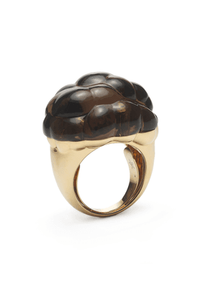 Bibi van der Velden Cloud 18K Gold And Quartz Ring