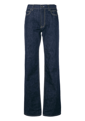 Calvin Klein 205W39nyc high waisted flared jeans - Blue