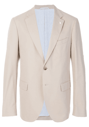 Gant By Michael Bastian classic two buttoned jacket - NEUTRALS
