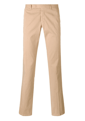 Armani Jeans straight leg chinos - NEUTRALS