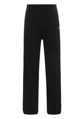 Balenciaga political cotton sweatpants - Black