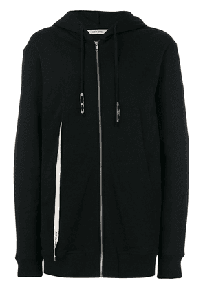 Damir Doma Wayan zip-up cotton hoodie - Black