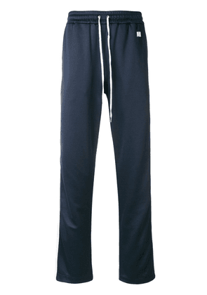 AMI trackpants with contrasted bands - Blue