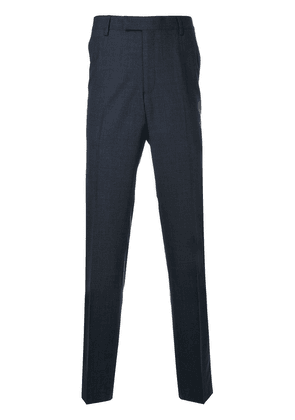 Gieves & Hawkes classic tailored trousers - Blue
