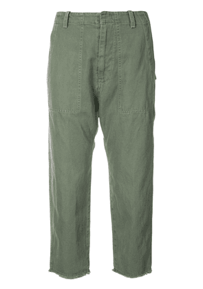 Nili Lotan cropped trousers - Green