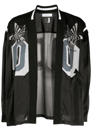 Facetasm mesh panelled sports jacket - Black