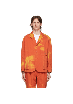 Etudes Orange Bleached Jacket