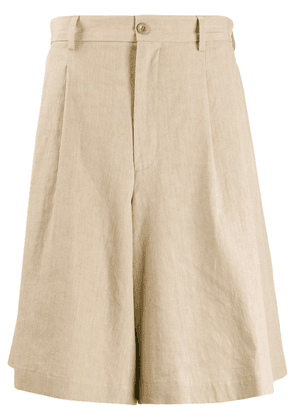 Maison Margiela oversized shorts - NEUTRALS