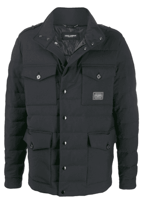 Dolce & Gabbana double facing padded jacket - Black