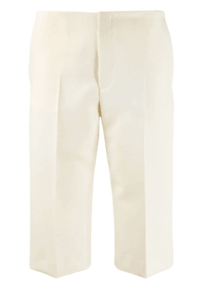 Maison Margiela slim fit shorts - NEUTRALS