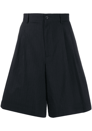 Maison Margiela pinstriped shorts - Blue