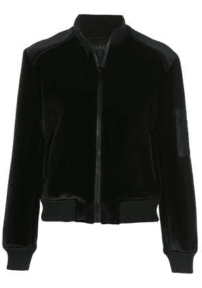 ALALA fitted bomber jacket - Black