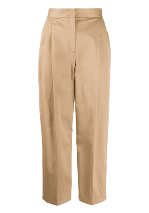 Dolce & Gabbana tailored straight-leg trousers - Brown