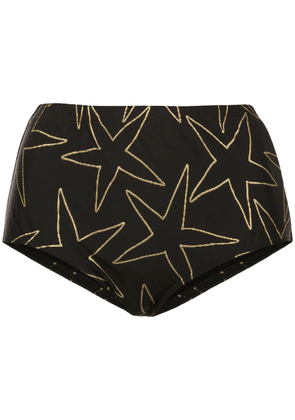 Cynthia Rowley Aster high waisted bottoms - Black