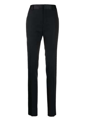 Saint Laurent slim-fit tailored trousers - Black