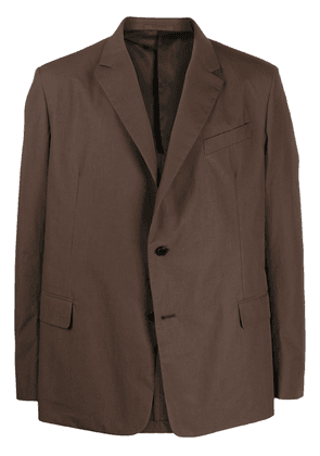 Valentino single-breasted blazer - Brown