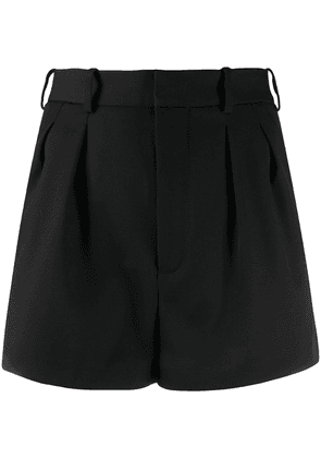 Saint Laurent high-waisted tailored shorts - Black