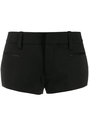 Saint Laurent tailored tuxedo shorts - Black