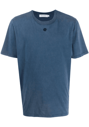 Craig Green embroidered hole T-shirt - Blue