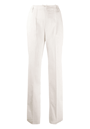 Diesel Black Gold high-waisted tailored trousers - NEUTRALS