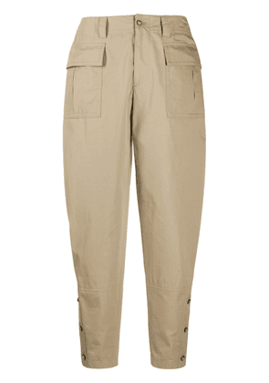 Dolce & Gabbana tapered cargo trousers - NEUTRALS