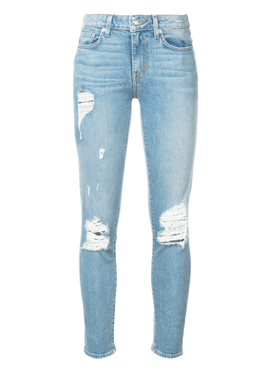 Derek Lam 10 Crosby Devi Mid-Rise Authentic Skinny - Blue