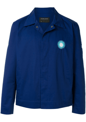 Craig Green embroidered detail jacket - Blue