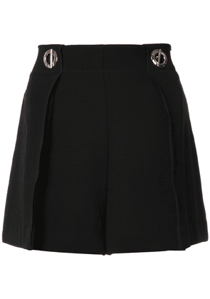 Derek Lam 10 Crosby Short With Grommet Detail - Black
