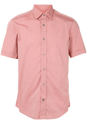Gieves & Hawkes short sleeve shirt - Red