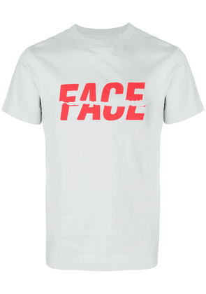 Facetasm logo print T-shirt - Grey