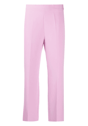 Altea straight-leg cropped trousers - PINK