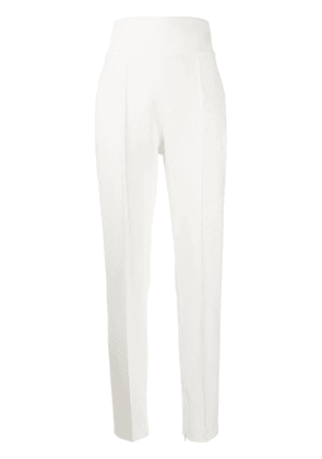 Alexandre Vauthier high-waisted tailored trousers - White