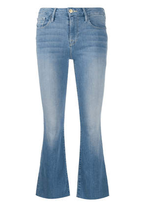 FRAME cropped flared jeans - Blue