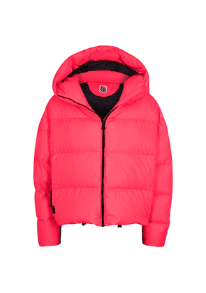 Bacon Cloud Neon Pink Quilted Shell Jacket