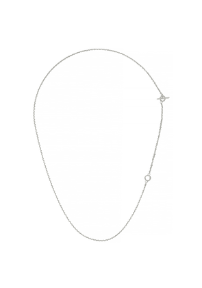 All Blues String Sterling Silver Necklace