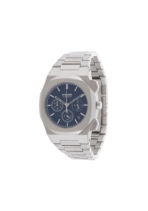 D1 Milano Chronograph 41.5 MM watch - SILVER