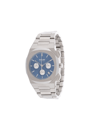 D1 Milano Chronograph Ionic Blue 41.5mm - SILVER