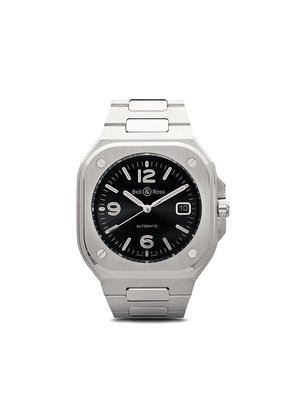 Bell & Ross BR 05 Black Steel 40mm - BLACK AND SILVER GREY