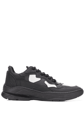 Filling Pieces lace-up low top trainers - Black